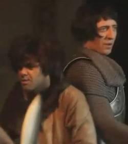 Jamel debbouze et gad elmaleh sont les chevaliers de la - Les chevaliers de la table basse ...