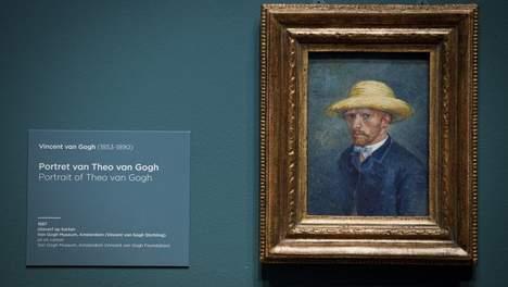 L autoportrait de van gogh serait celui de son fr re - Autoportrait a l oreille coupee van gogh ...