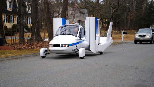 premier vol r ussi pour l etat de new york de la voiture volante vid o etrange et insolite. Black Bedroom Furniture Sets. Home Design Ideas
