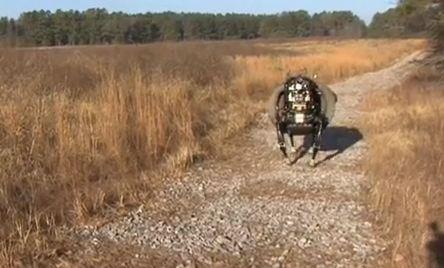 chien. - Un robot qui ressemble à un chien peut obéir à la voix Capture-113