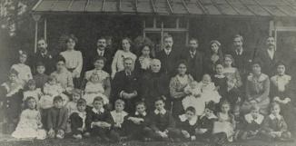 La famille Wall en 1908. Museum of London
