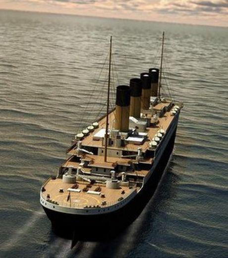 Photo Du Titanic: UNE REPLIQUE DU TITANIC DEVRAIT VOIR LE JOUR