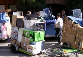 Au Québec, le 1er juillet, tout le monde déménage - en camion … ou à vélo – DR