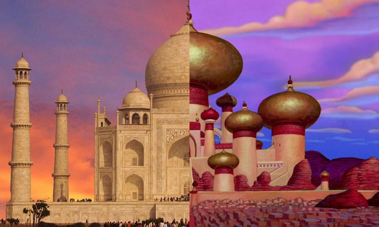 Les lieux fantastiques qui ont inspir s les d cors de for Les monuments les plus connus