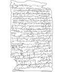 Les chercheurs ont ainsi pu reconstituer le texte de la tablette, écrit en grec. Ils ont ensuite été capables de le traduire.