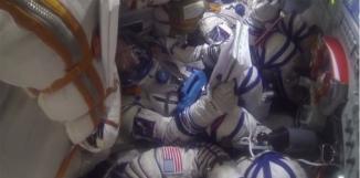 Intérieur d'une capsule Soyouz ESA