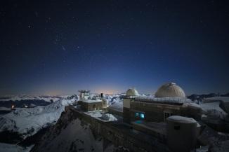 Image de nuit du Pic du Midi (N.Bourgeois)