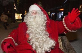 Le Père Noël (le vrai). KAISA SIREN/AP/SIPA