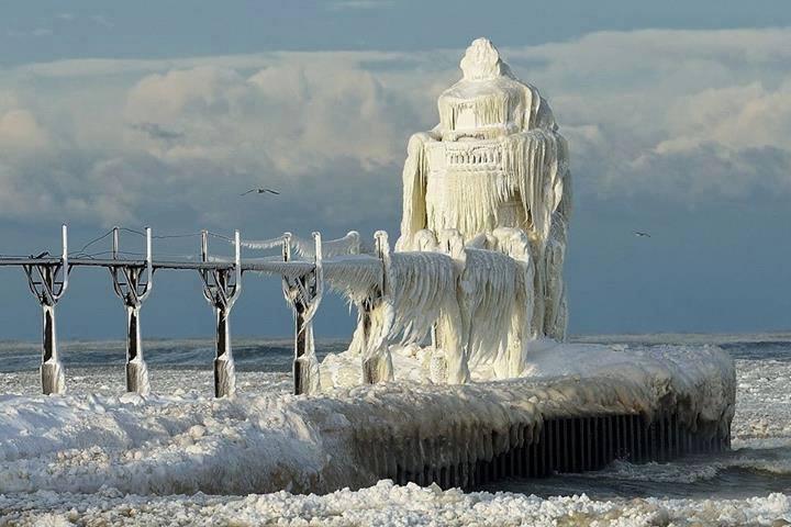 L image du jour le phare de saint joseph dans l paisse - Saint de glace 2018 ...