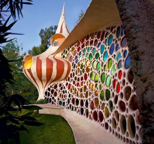 Le nautilus la maison coquillage galerie etrange et - Frank lloyd wright architecture organique ...