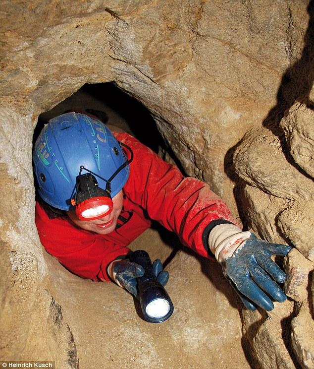 Pas pour les claustrophobes: La plupart des tunnels sont d(a peu près 70cm - juste assez large pour qu'une personne puisse se faufiler à travers lentement