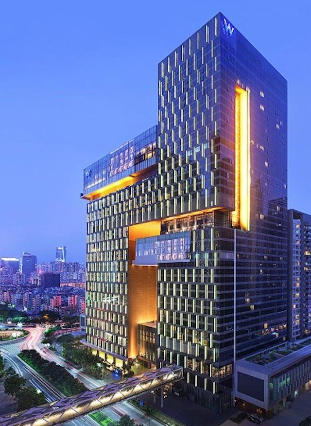 Nouveaux h tels en chine galerie etrange et insolite for Moderne hotels kanaren