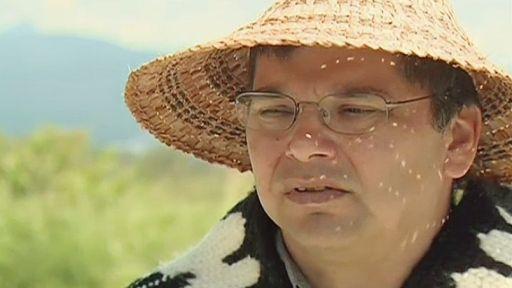 Ron Giesbrecht est le grand chef de la réserve Kwikwetlem, une petite communauté de 35 habitants (crédit photo ;  CTV News file photo)