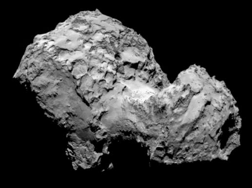 Vue de la comète, le 3 août 2014/ESA