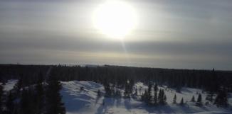 Sous la glace du sol Canadien, de grandes quantités de CO2 pourraient-être libérées dans l'atmosphère Rachel Mulot / Sciences et Avenir