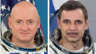 Scott Kelly et Mikhail Kornienko © ap.