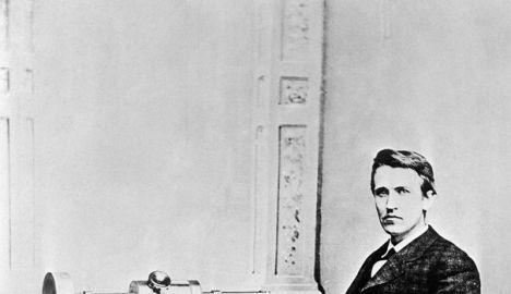 L'inventeur Thomas Alva Edison (1847-1931) afp.com