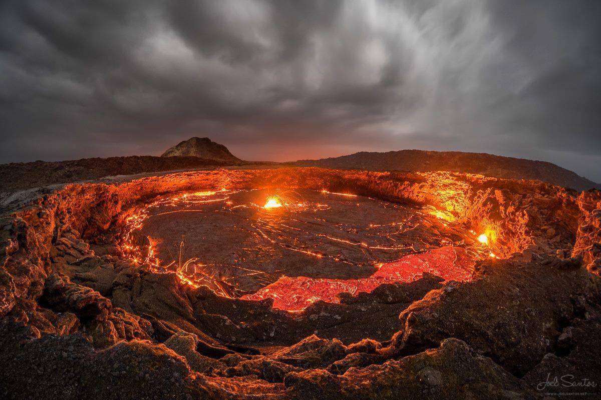 Výsledek obrázku pro Erta Ale, Etiopie