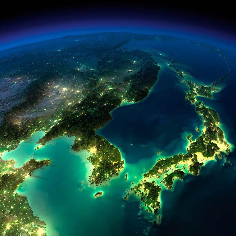 De superbes photographies de la terre vue de l espace for Espace insolite