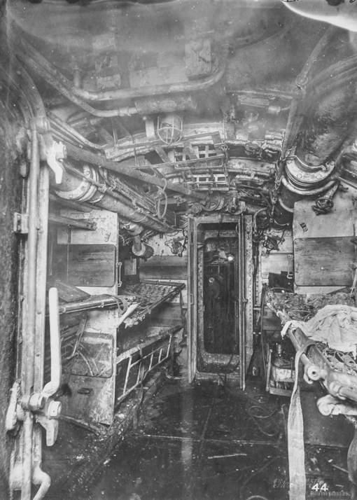 L'oppressant intérieur d'un sous-marin de 14-18 (diaporama ...