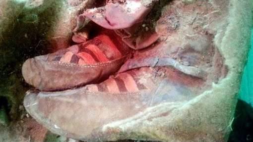 Une momie vieille de 1.500 ans a été retrouvée dans les montagnes de l'Altaï (Mongolie). Son état de conservation est exceptionnel. Mais ce sont surtout ses chaussures qui ont attiré l'attention des internautes. © Khovd Museum.