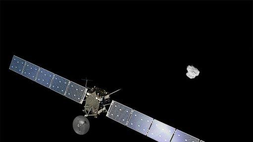 Rosetta en approche de la comète