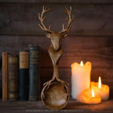 Cuillères en bois sculptés en forme d'animaux (galerie et vidéo) 39