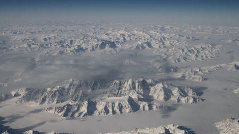 Photo fournie par la NASA du Groenland où ont été découverts des fossiles datant d'au moins 3,7 milliards d'années afp.com/Handou