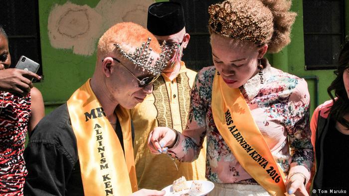 Les gagnants de Mr & Miss Albinism