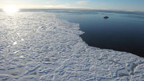 Le bruit semblait provenir des fonds marins. [CLEMENT SABOURIN / AFP]