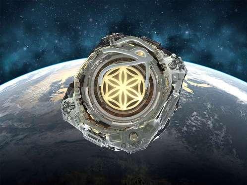 Logo d'Asgardia, qui veut devenir la première nation spatiale. © Asgardia
