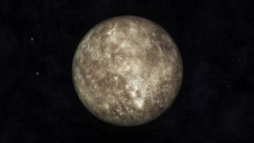 Digital Illustration of Planet Mercury
