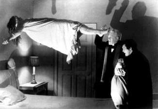 """C'est l'une des scènes les plus connues du cultissime film d'horreur """"L'Exorciste"""". © reuters."""