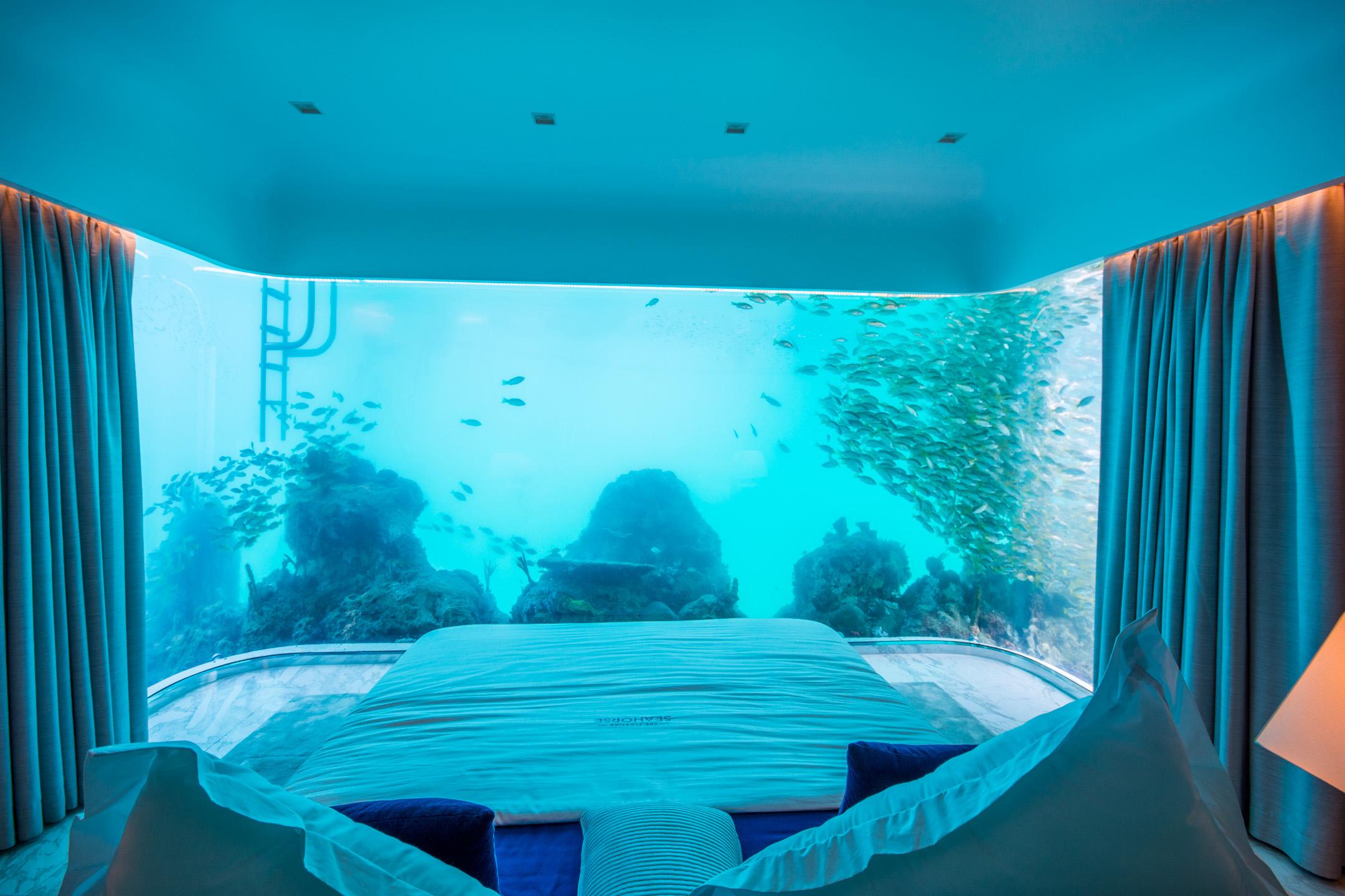 Des maisons moiti sous l eau voient le jour duba Imagenes de hoteles bajo el agua
