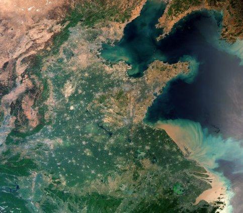 L'image du jour : La Terre depuis l'espace, Shanghai (vidéo) By Jack35 114
