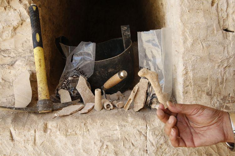 Des tombes romaines découvertes en Palestine ! By Jack35 59