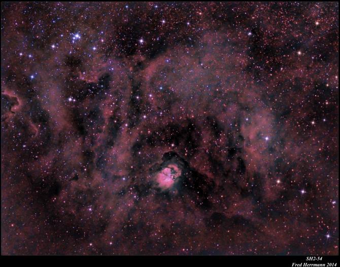 L'image du jour : La nébuleuse Sh2-54 (vidéo) By Jack35 147