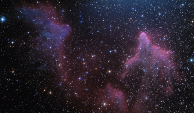 L'image du jour : Les fantômes de Cassiopée, IC 59 et IC 63 (Vidéos) ! By Jack35 1110