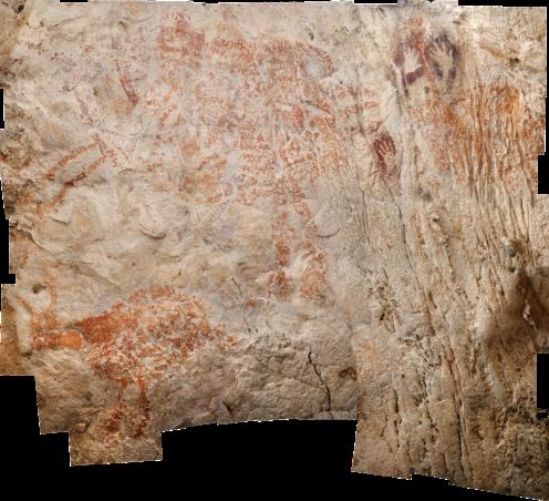 Premières peintures rupestres d'un animal découvert en Indonésie, datant de 40 000 ans (vidéo) By Jack35 11