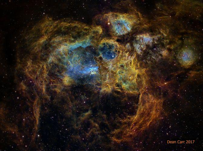 L'image du jour : La nébuleuse du homard, NGC 6357 ! (Vid.sur Bidfoly.com) By Jack35 1-33