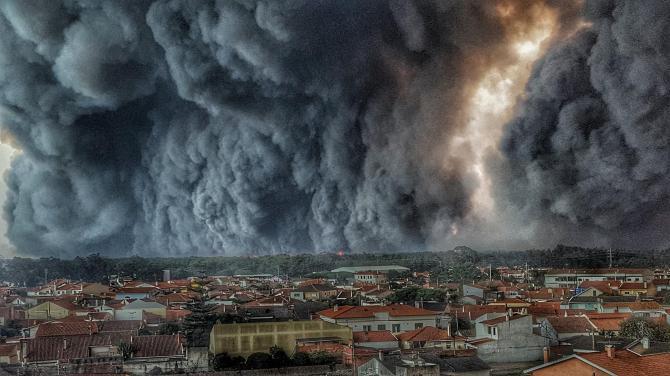 L'image du jour : Incendie au Portugal ! (Vidéo sur Bidfoly.com) By Jack35 1-54