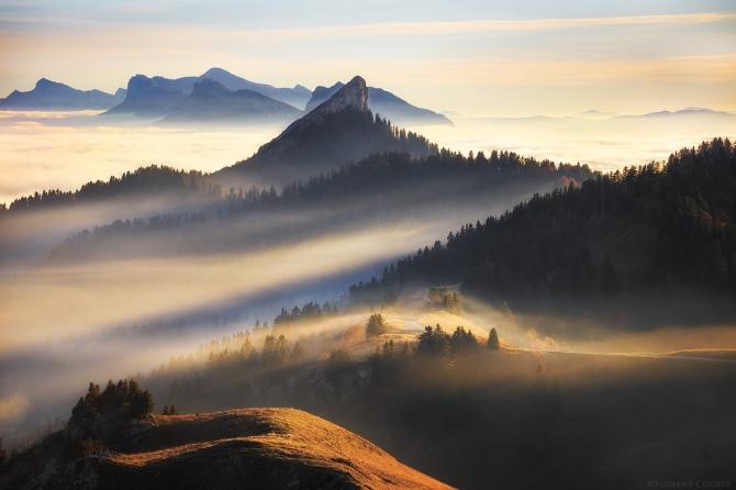 L'image du jour : Le massif de la Chartreuse dans les Alpes Françaises ! (vidéo sur Bidfoly.com) By Jack35 1-65
