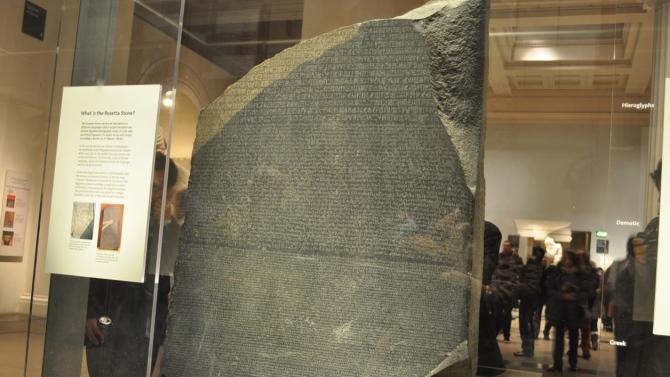Que dit la pierre de Rosette ? (vidéo) By Jack35 3