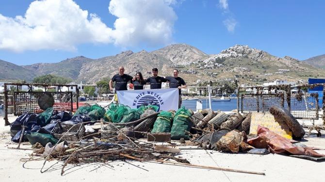 Plus d'une tonne de déchets retirés de la mer Egée (vidéo) By Jack35 1-15