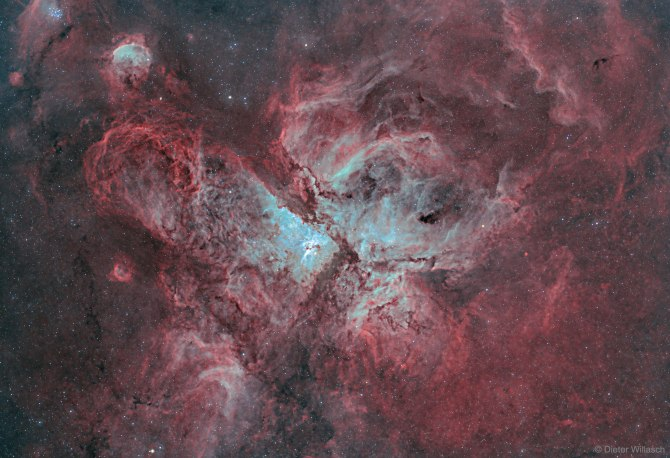 L'image du jour : La grande nébuleuse de Carina, NGC 3372 (vidéo) By Jack35 1-27