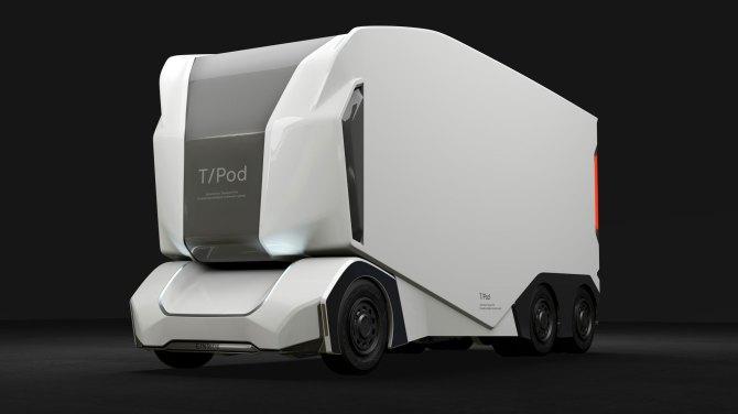 Une start-up suédoise développe un camion autonome pour le transport de marchandises (vidéo) By Jack35 1-46