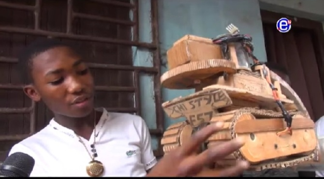 Cameroun : les rêves d'un ingénieur en herbe (vidéo) By Jack35 1-53