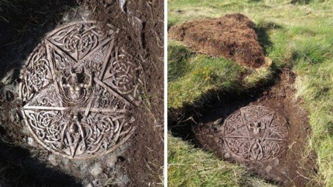 Un autel païen et un symbole satanique découvert dans le parc Holyrood à Édimbourg (vidéo) By Jack35 1-67