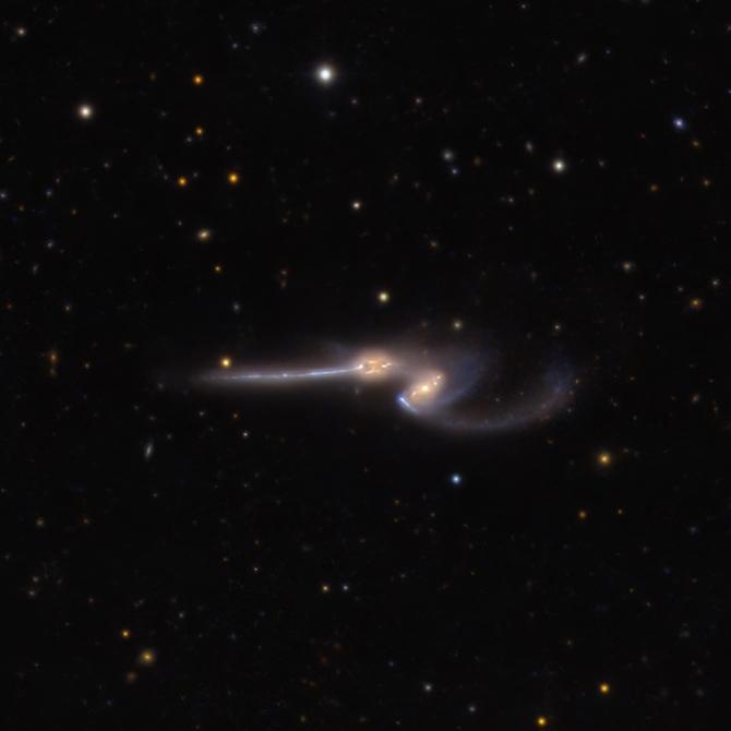 L'image du jour : La galaxie de la Souris, NGC 4676 (vidéo) By Jack35 2-17