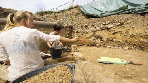 La fouille de la Visitation, une mine de trésors antiques à Lyon (vidéo) By Jack35 1-27